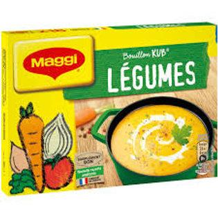 bouillon de legumes x 18