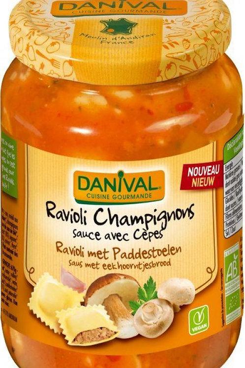 Ravioli champignons sauce cèpes 670g