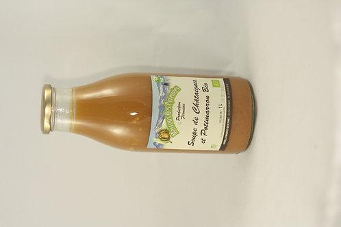 Soupe de Potimarron et châtaigne Prix au litre