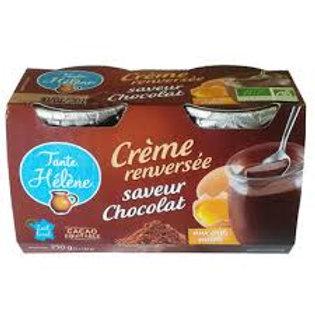 crème brûlé chocolat bio