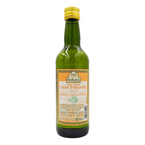 Eau goût fleur d'oranger bouteille 50cl Fantasia