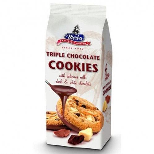 Cookies triple chocolat. paquet 200g