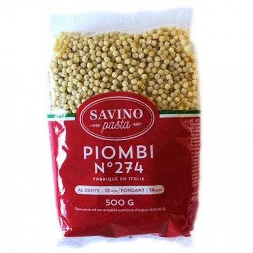 Pâtes Gros Plombs n°274 pqt 500g Savino Pasta