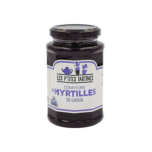 Confiture myrtilles du Canada pot 315g