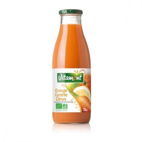Jus orange carotte citron 75cl