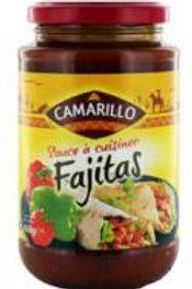 Sauce à cuisiner fajitas . bocal 430g Camarillo