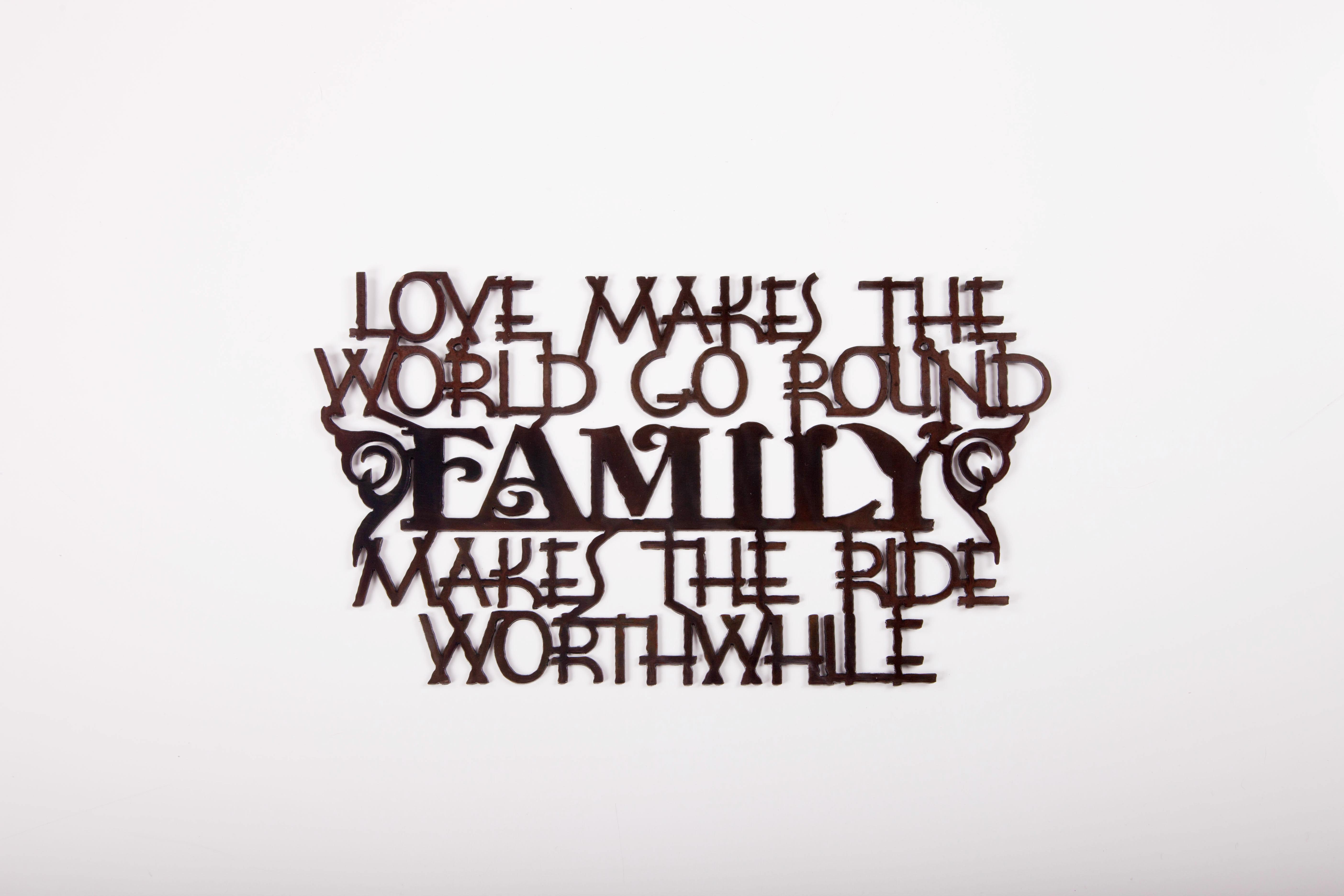 Family- World Go Round