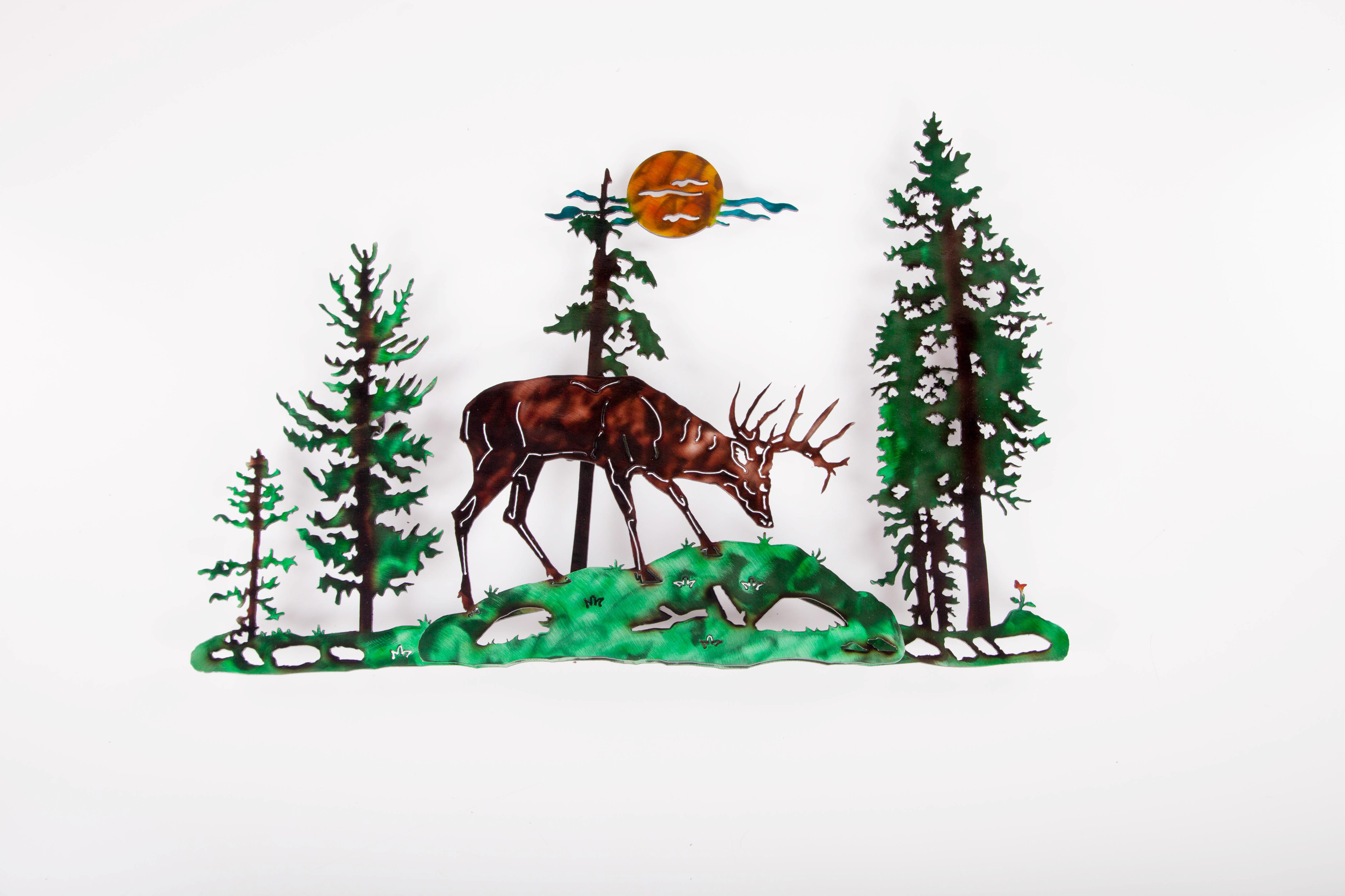 Deer in Pines (RC)