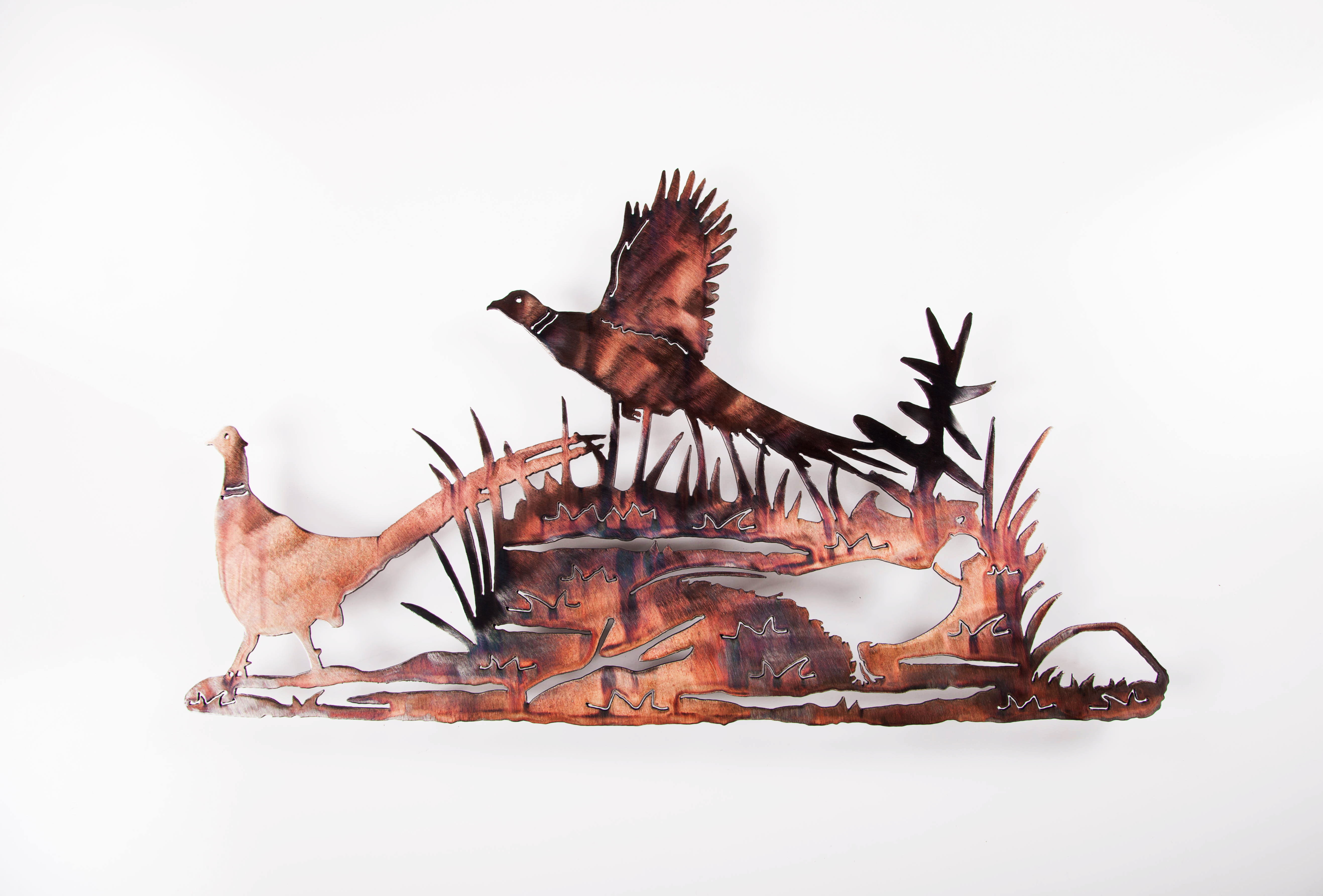 Pheasant Scene