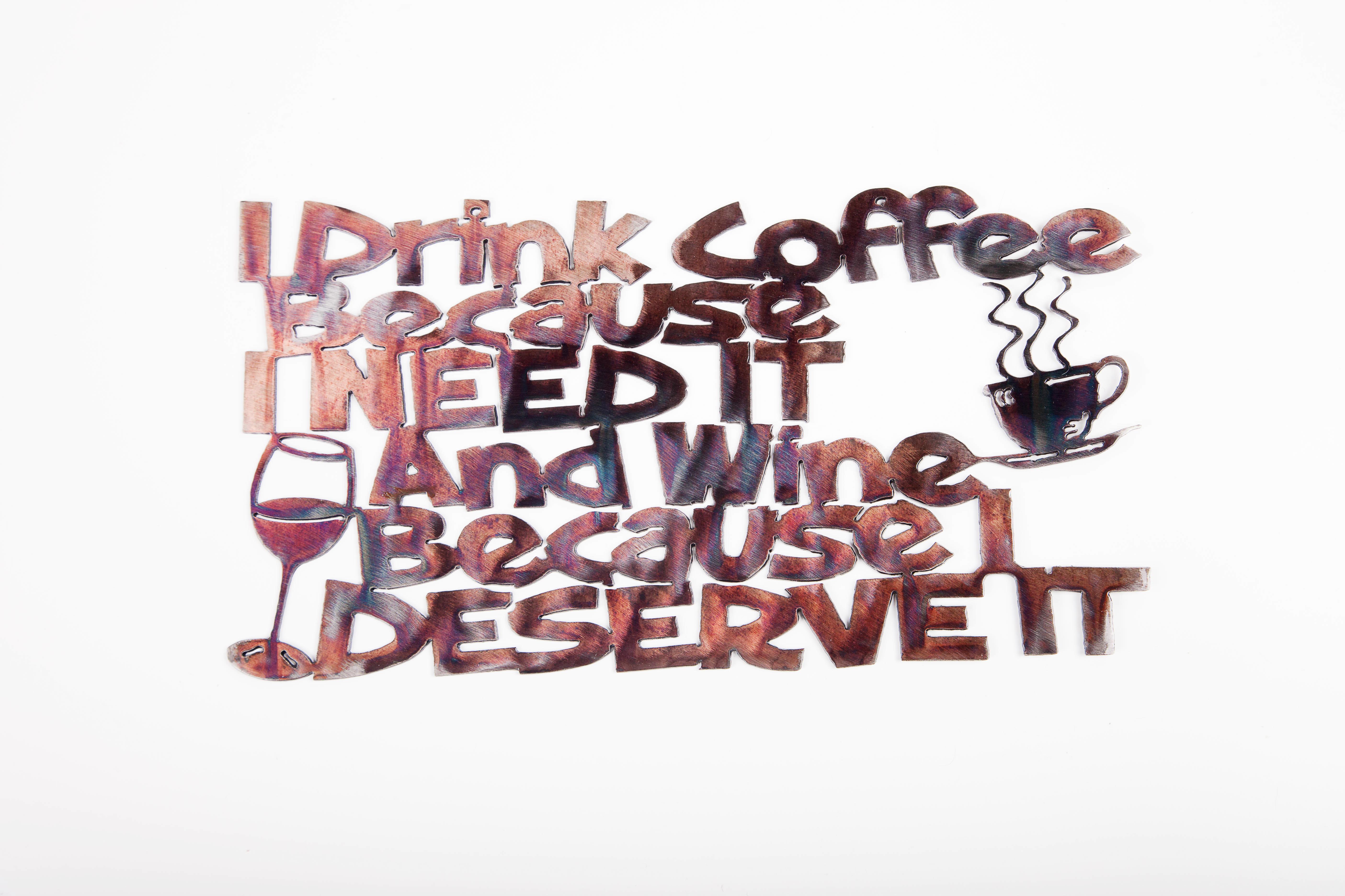 I Drink Coffee/Wine