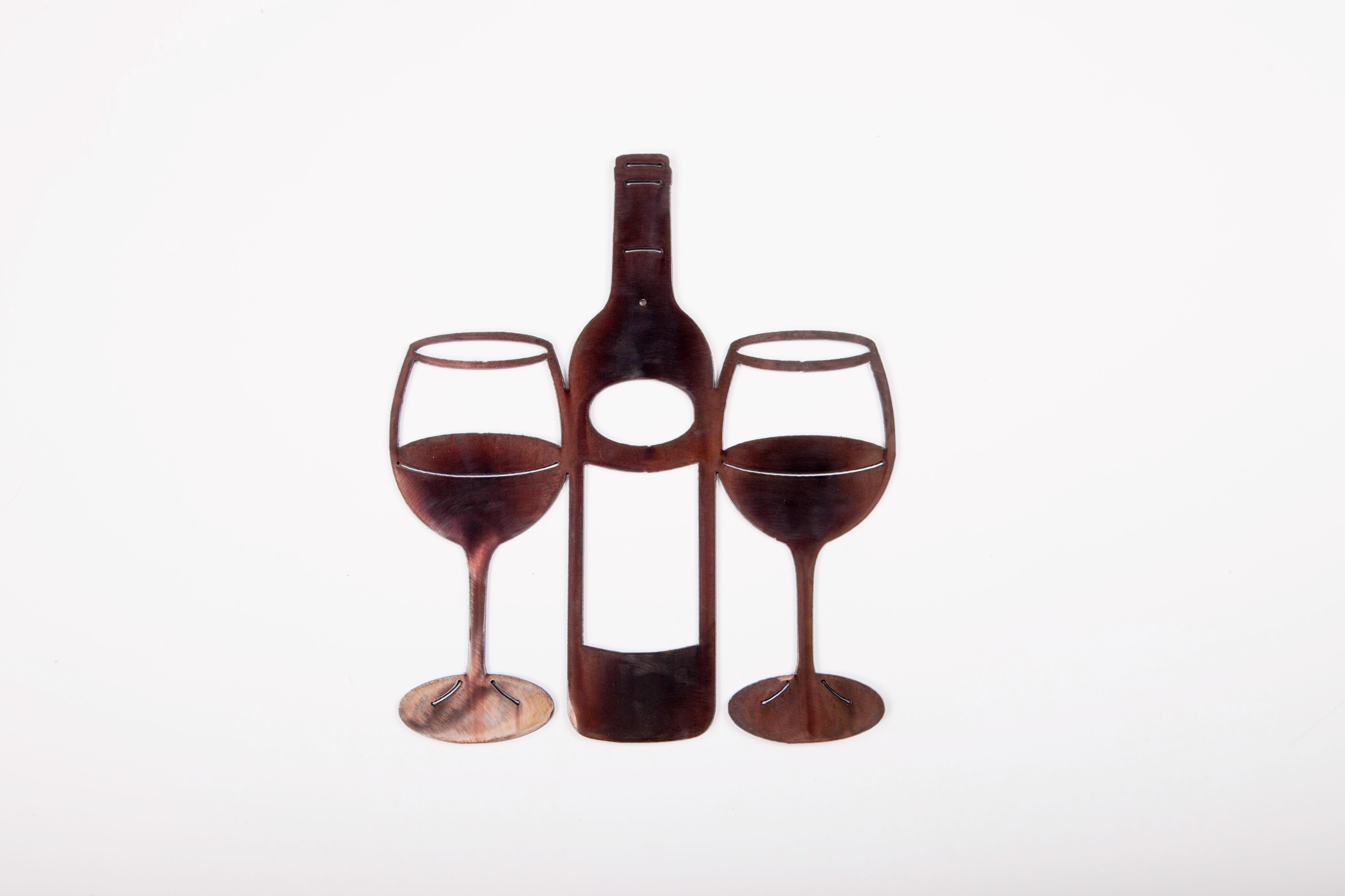 Bottle w /Glasses