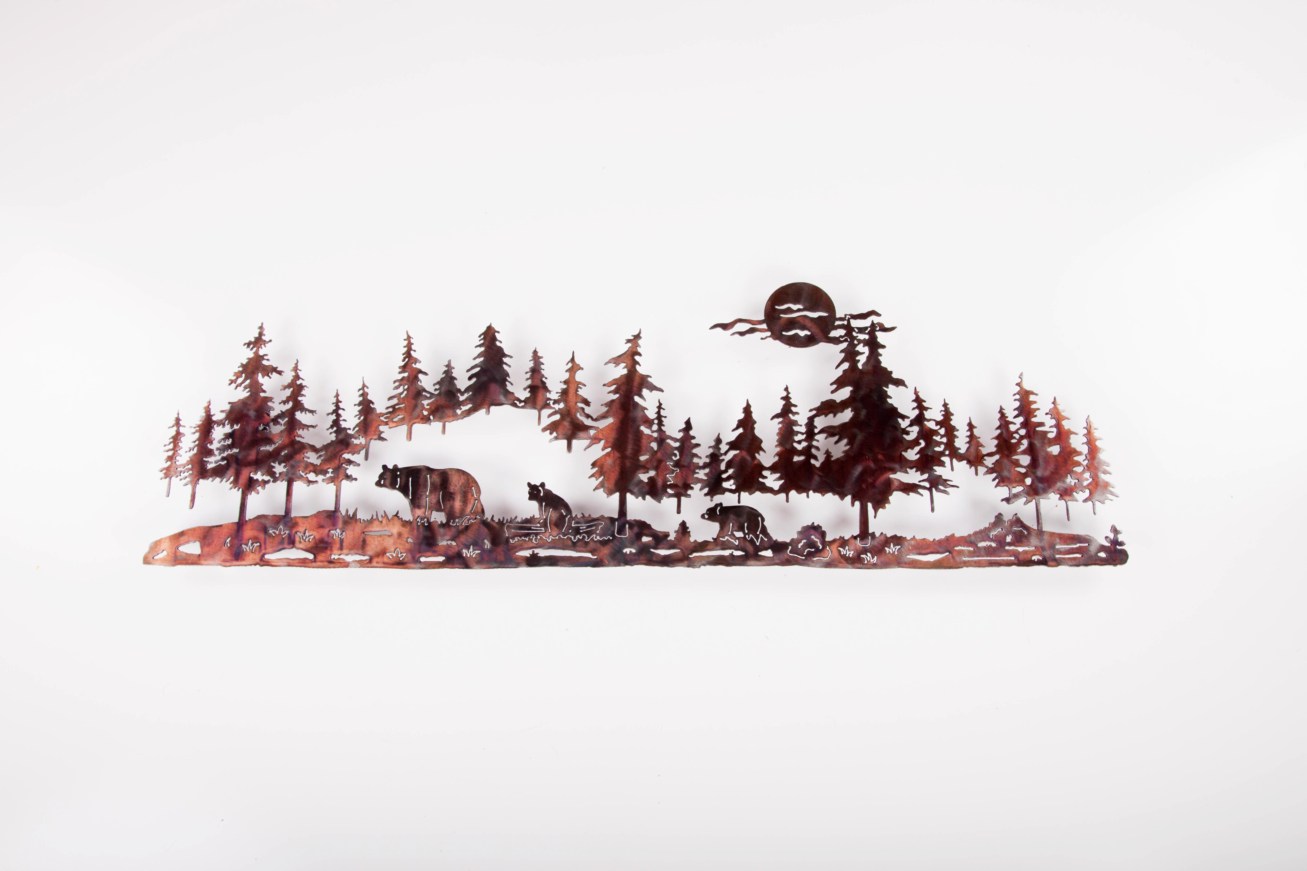 Pine line w/ Bear (P)