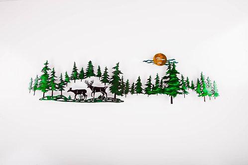 Long Pine Line Deer (C)