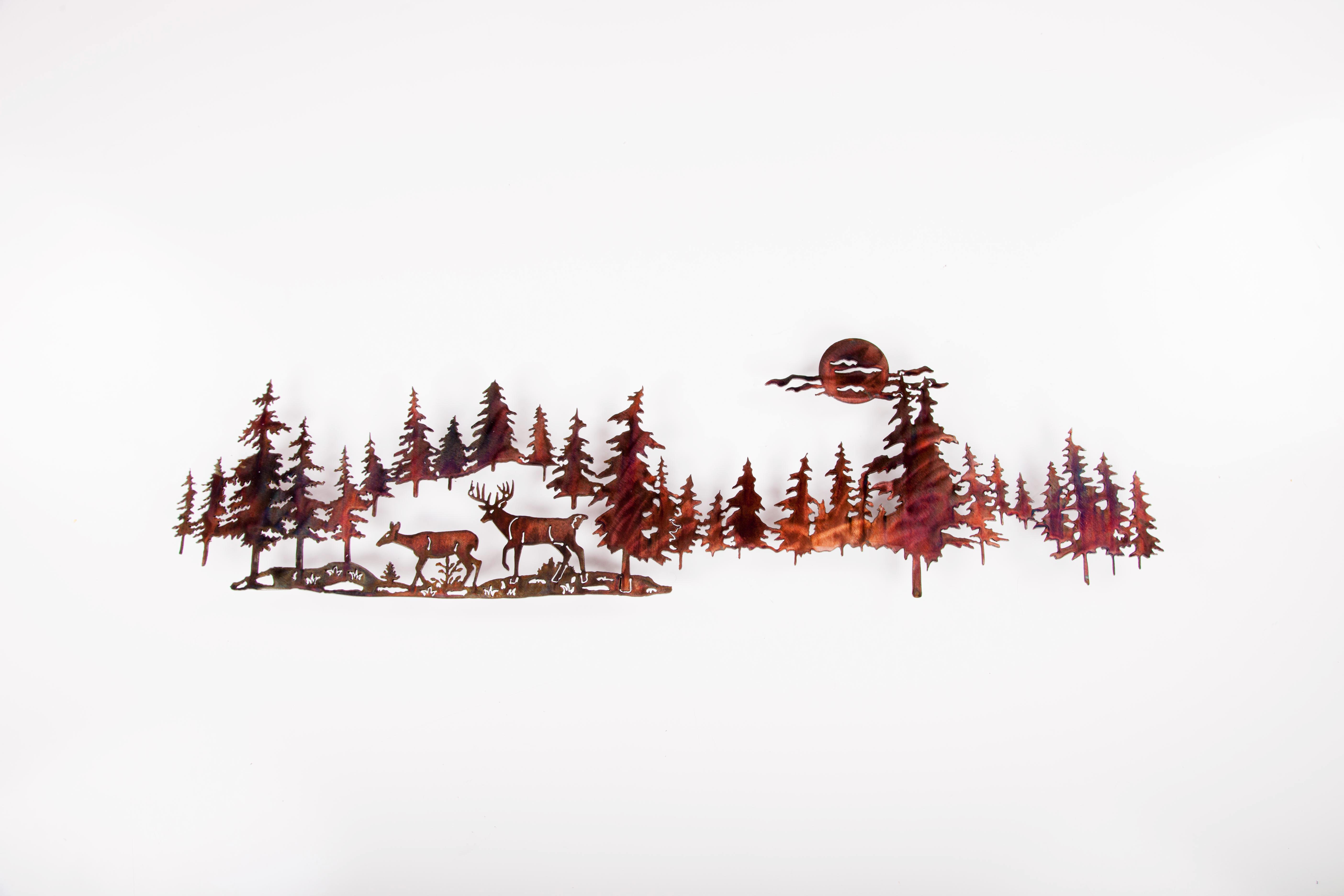 Long Deer in Pine line (P)