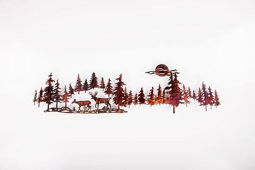 Deer in Pines Long (P)