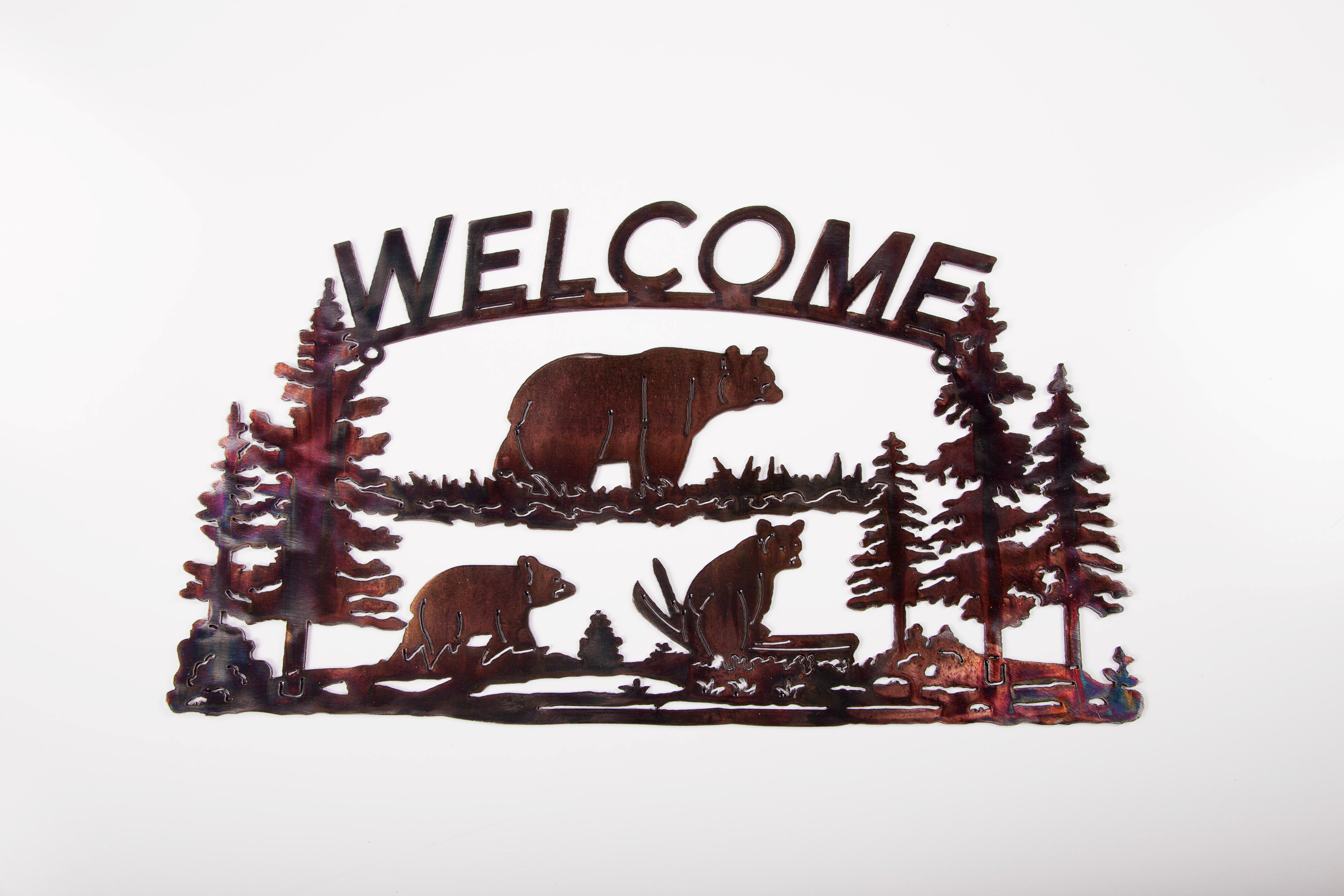 Welcome Sign - Bear