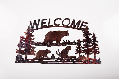 Welcome Sign (Bear)