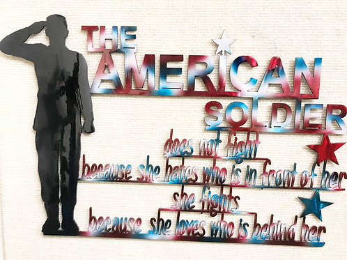 American Soldier- She