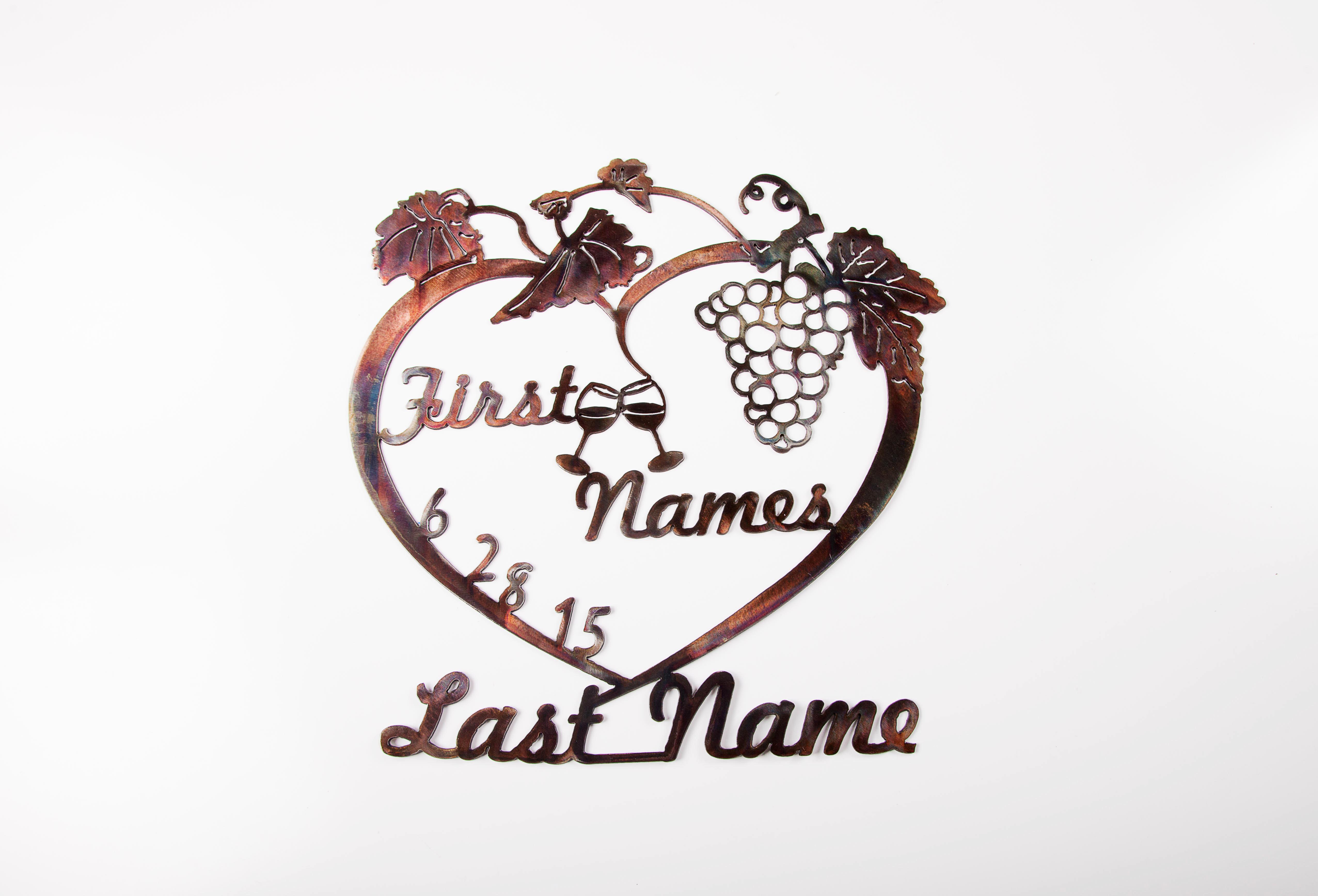 Wedding Wine Design