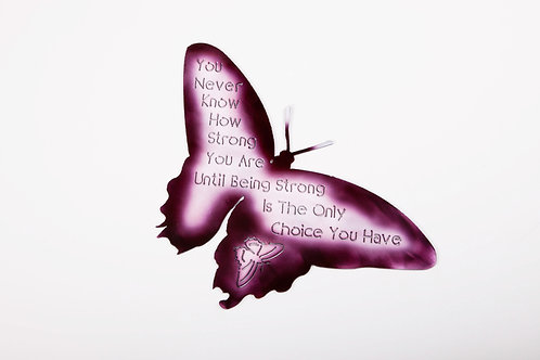 Purple Butterfly -How Strong