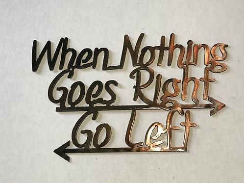 Go Right/Go Left
