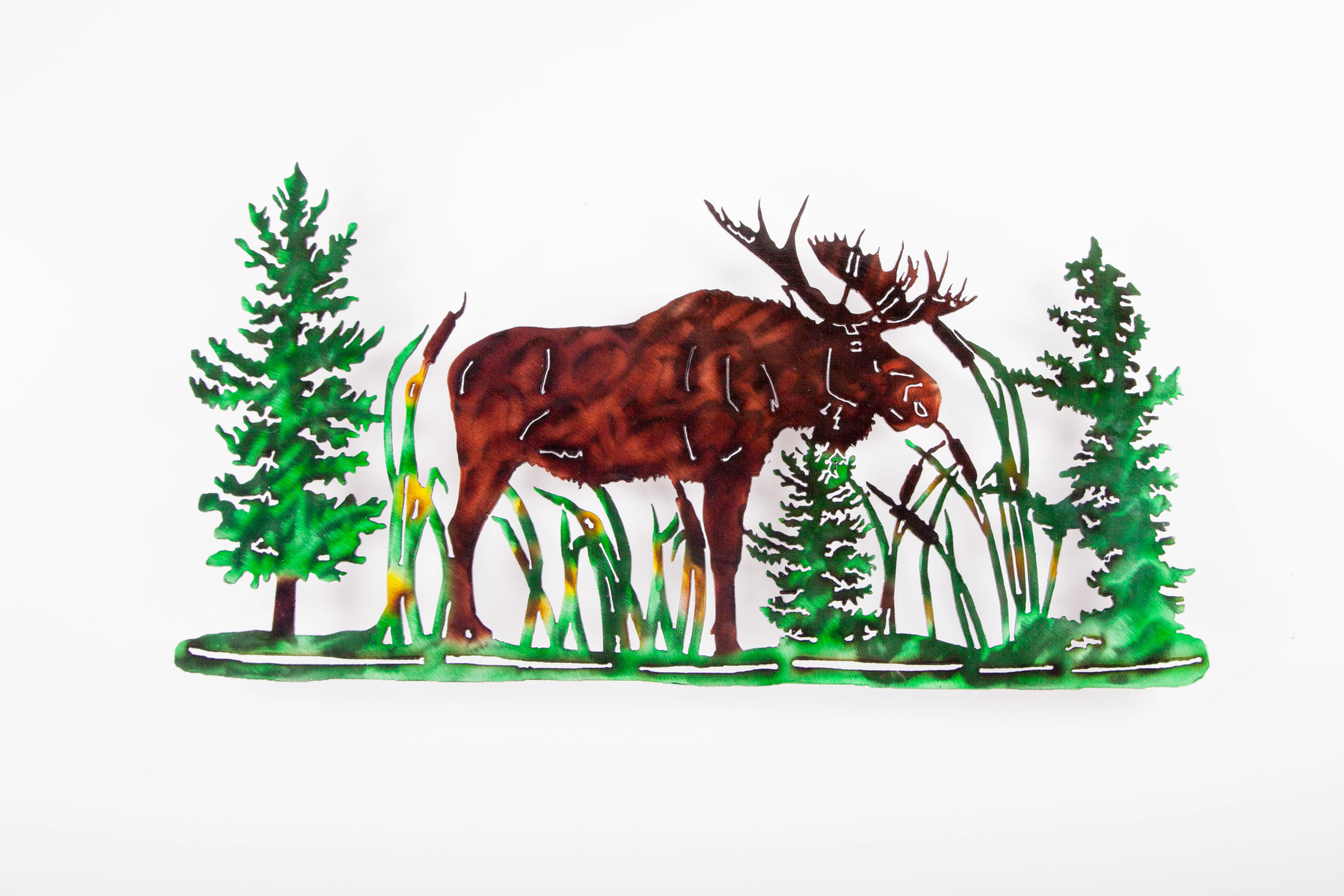 Moose Scene (C)