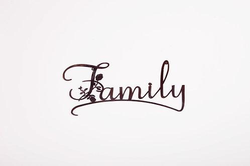 Family w/ Flowers