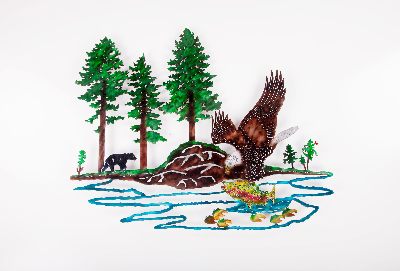Eagle Scene