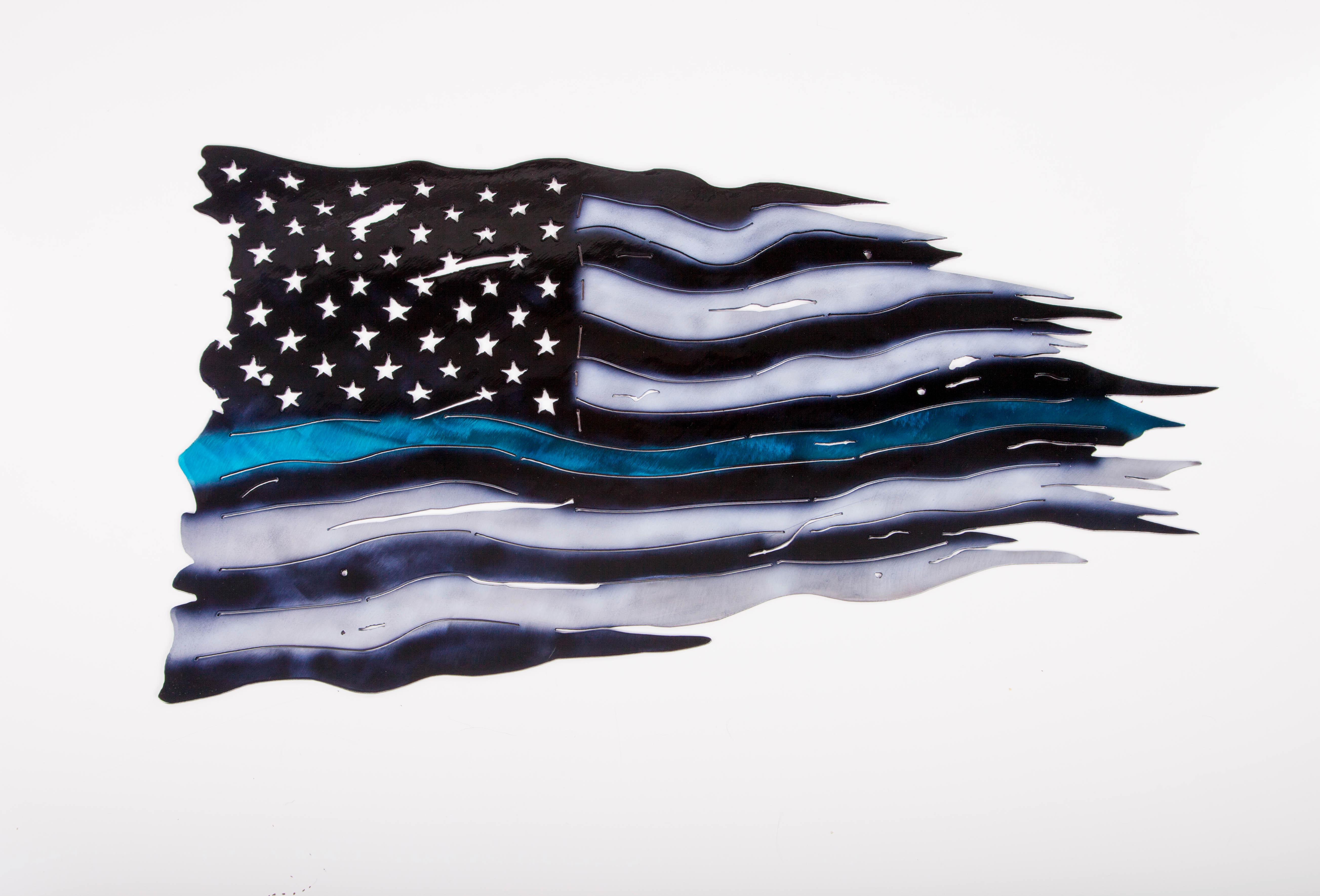 Blue Strip Flag (Police)