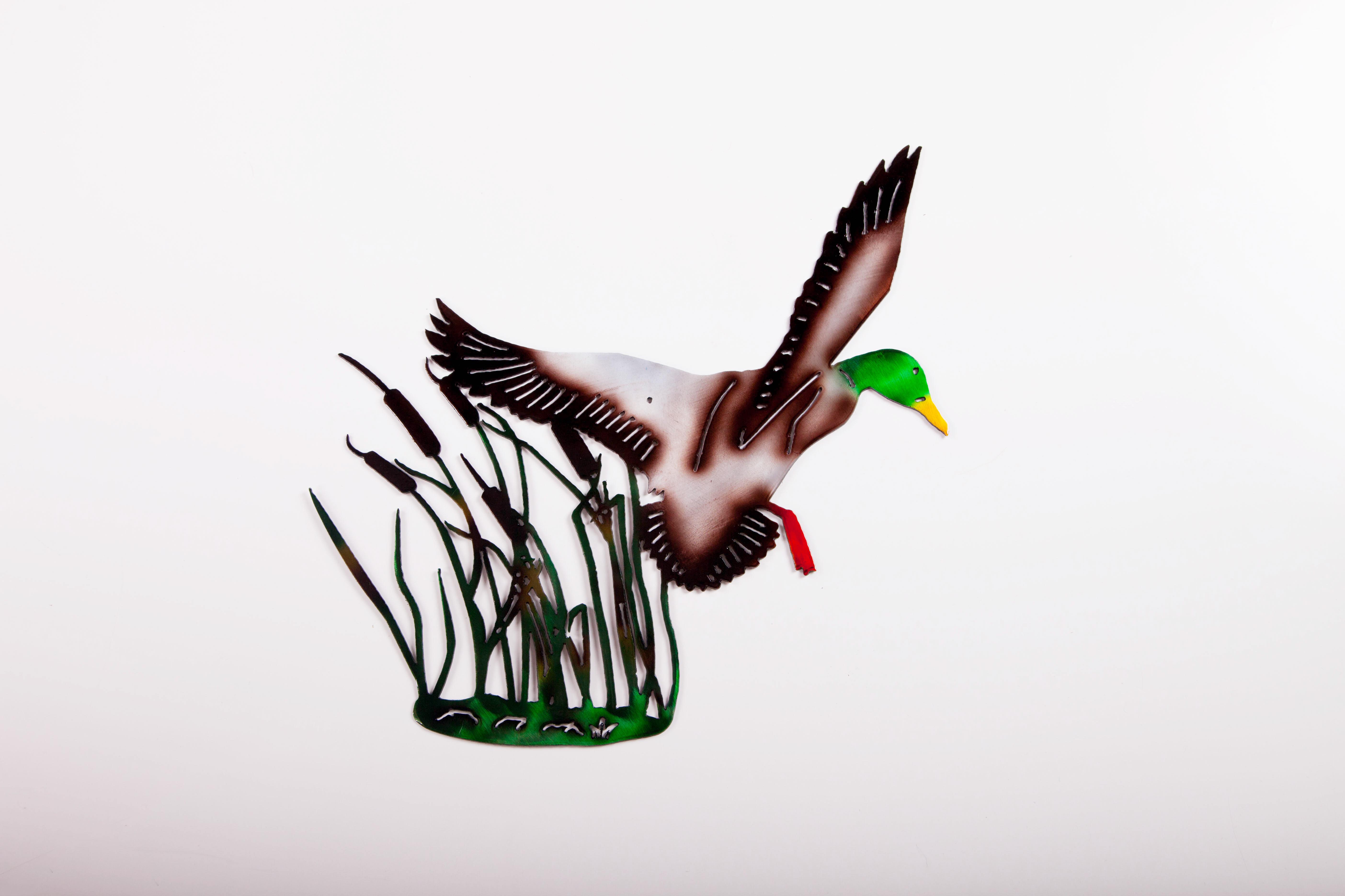Duck in Grass (C)