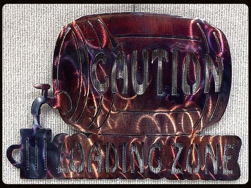 Caution Loading Zone