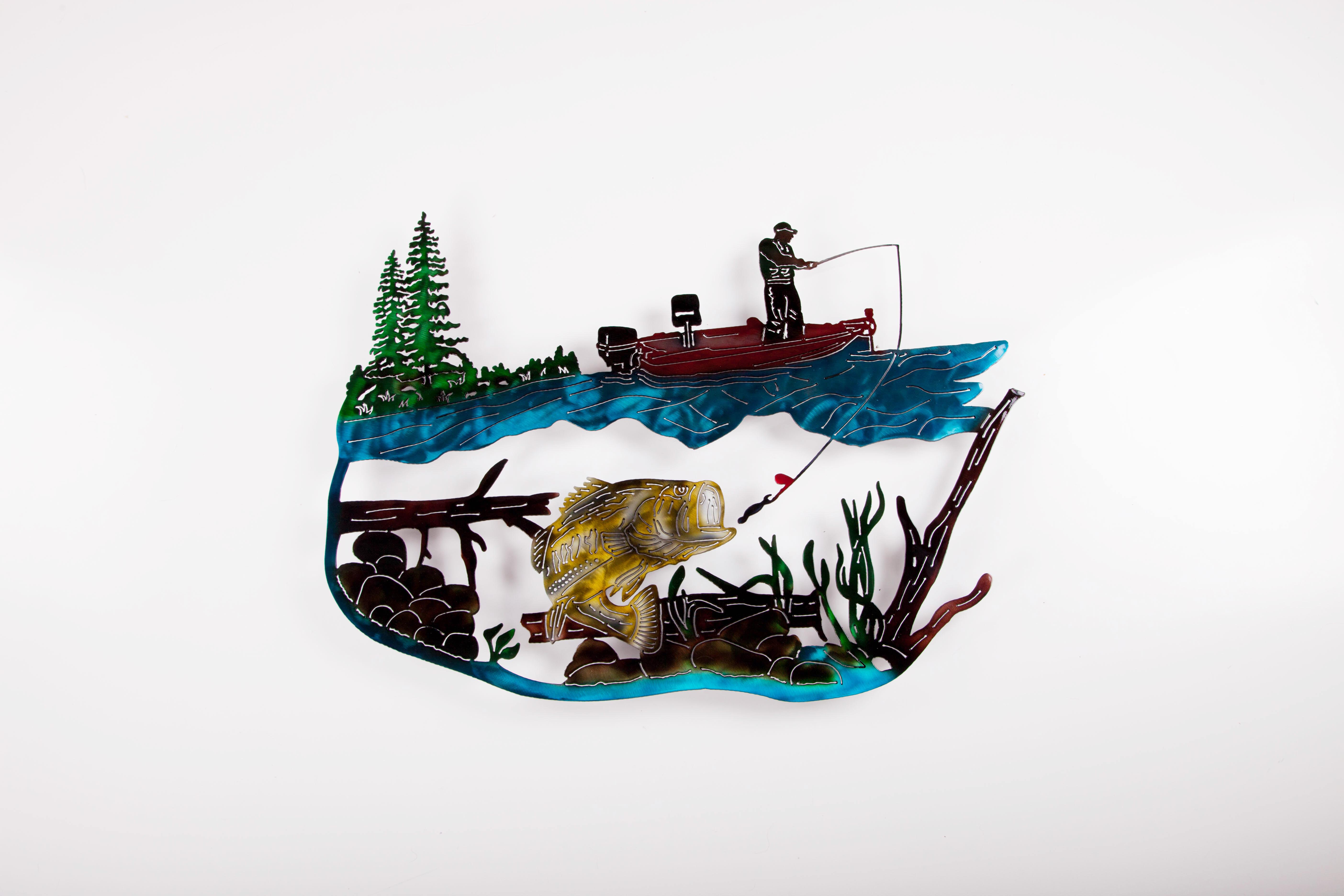 Fishing Scene - Bass (C)