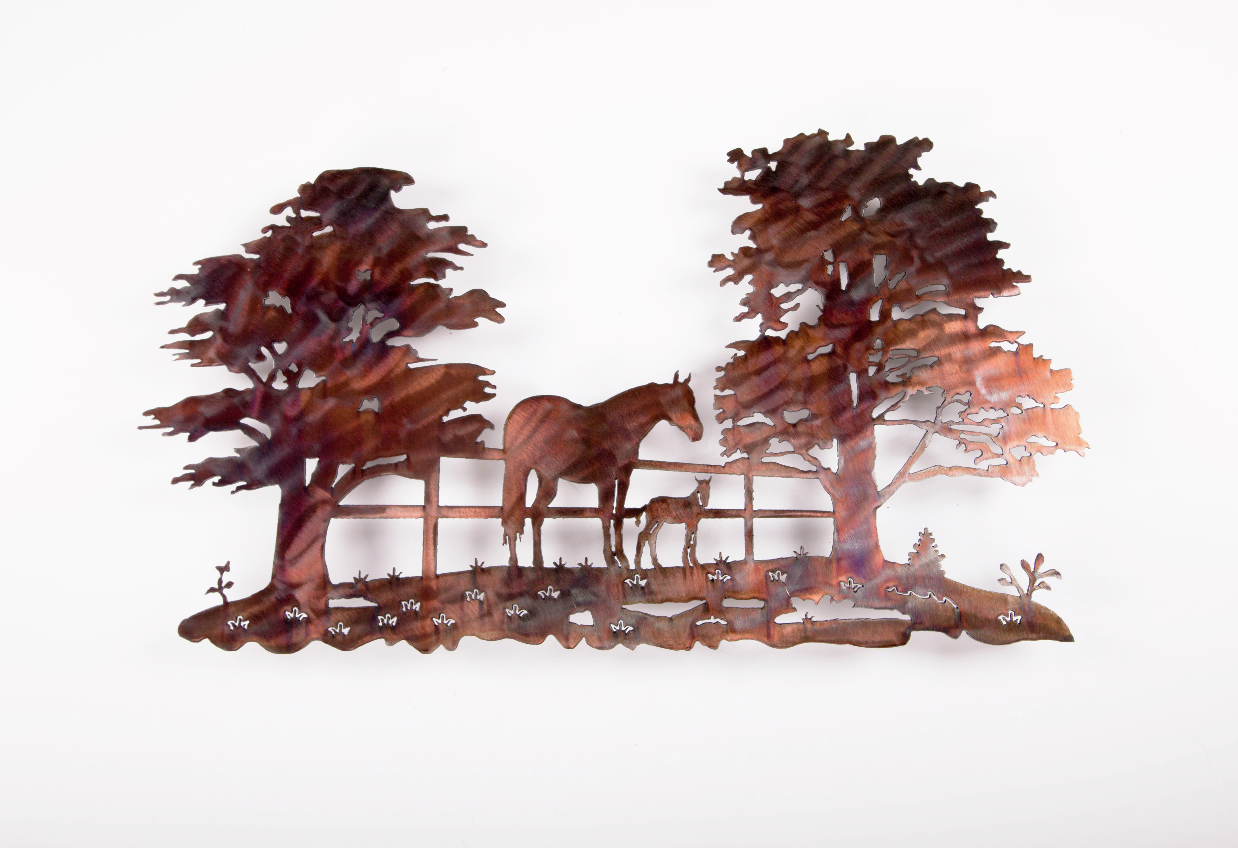 Horse and Colt Scene