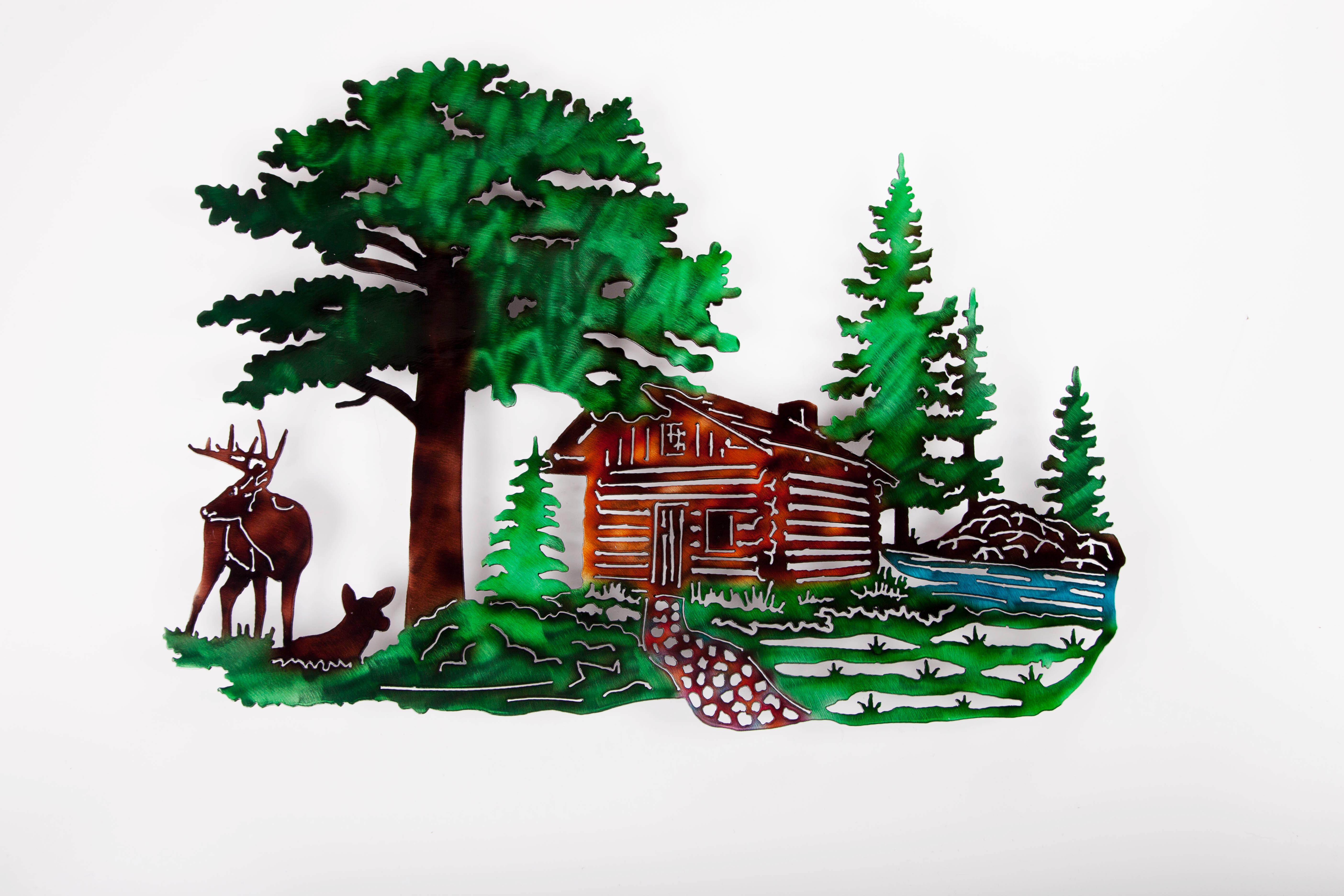 Cabin Scene (C)