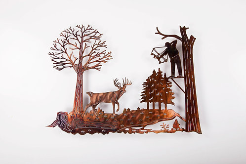 Bow-hunter Scene (P)