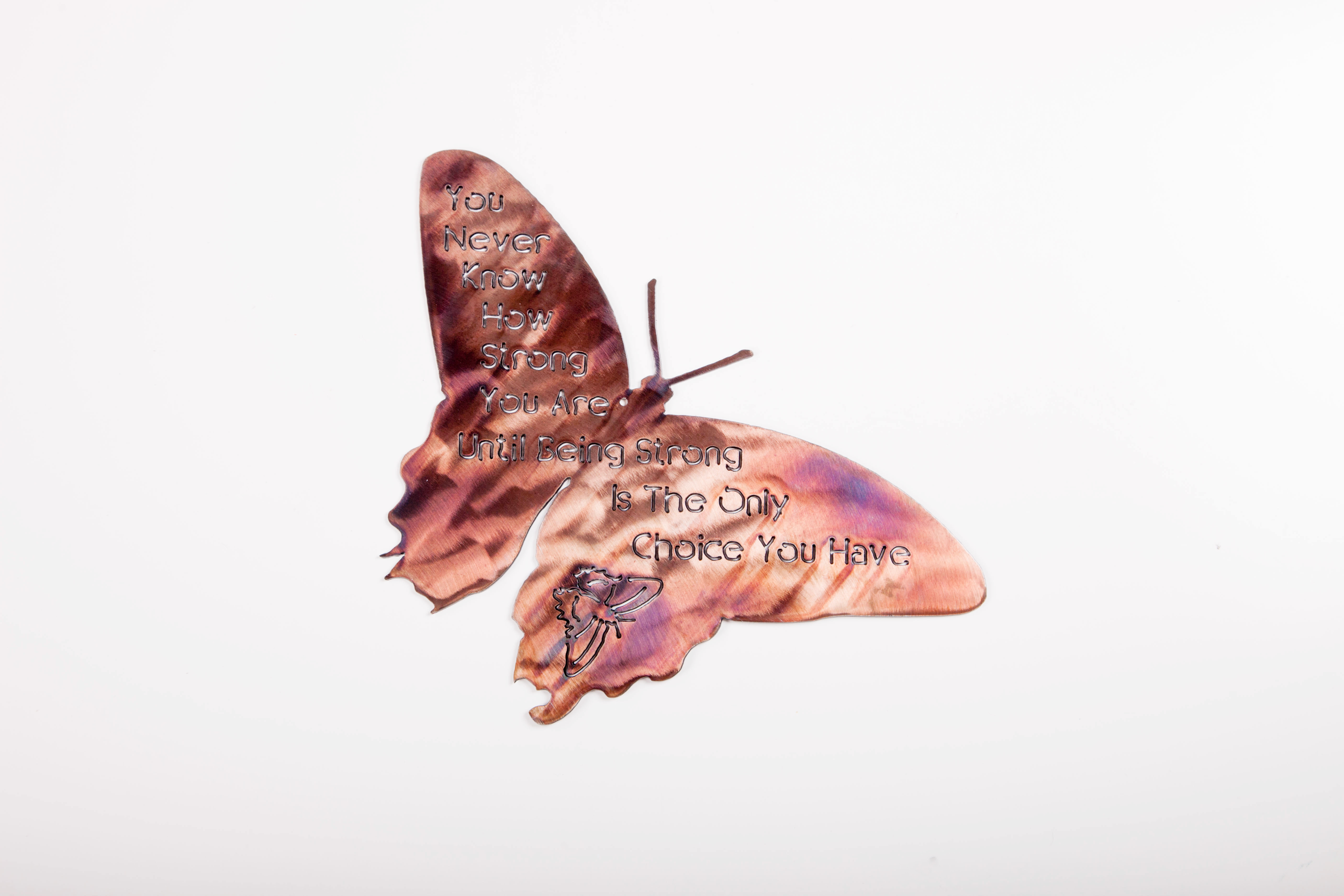 How Strong Butterfly- Patina