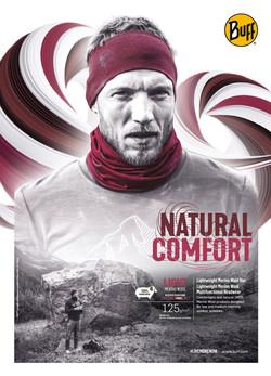 BUFF - NATURAL COMFORT - Merino Kopie