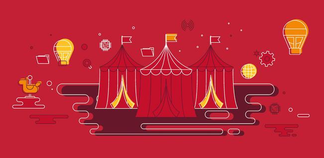 UL LLC Carnival Illustration