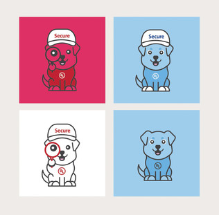 UL LLC Secure Team Mascots