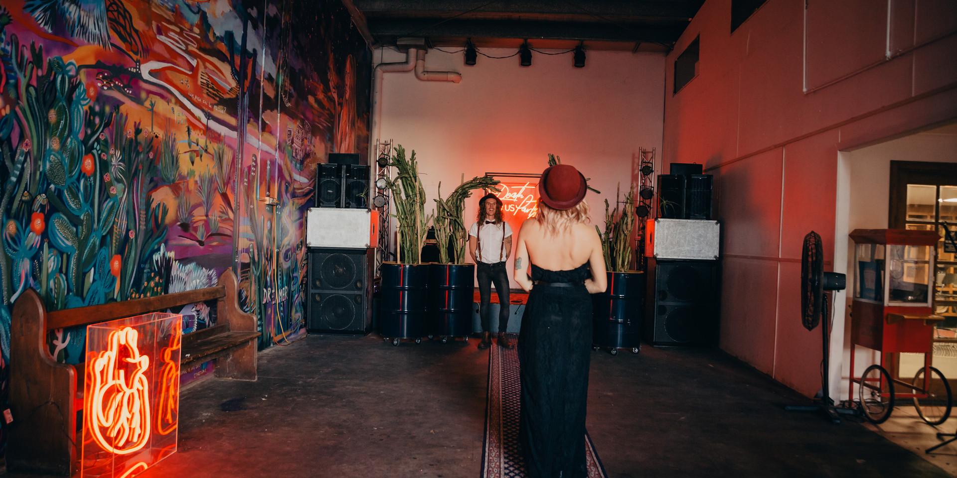 Mo's Desert Clubhouse - Wedding shoot
