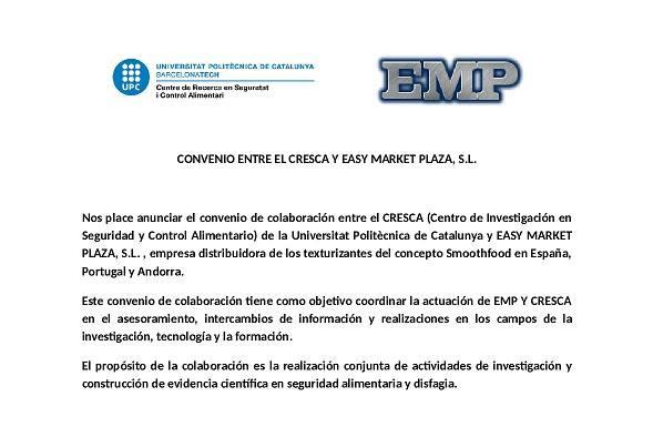 CONVENIO EMP Y CRESCA-UPC