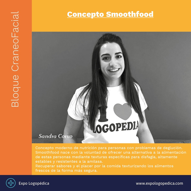 SMOOTHFOOD EN EXPOLOGOPÉDICA 2019