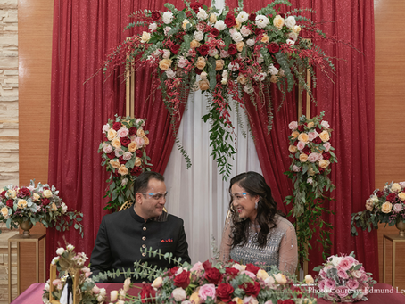 Pandemic Wedding: Uday & Claudya's Wedding in Singapore