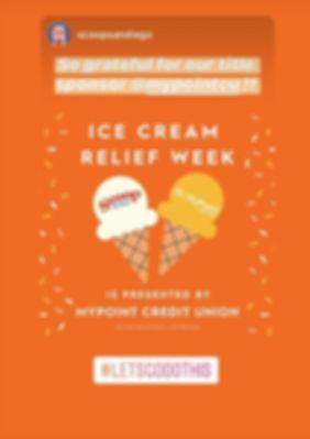 #IceCreamReliefWeek. My Point Credit Union.