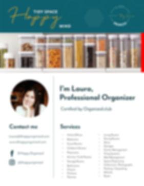 Laura Misas Professional OrganizerChamber of commercer
