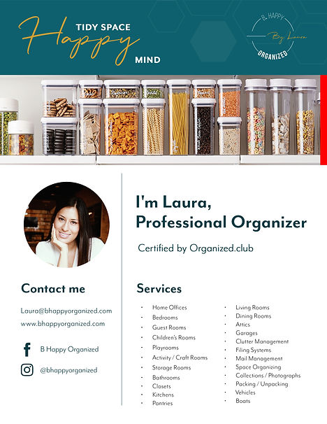 Laura Misas Professional OrganizerChamber of commercer