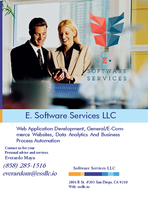 E sofware Service LLC. Everardo Maya