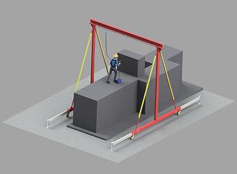 Fallschutz Arbeitsplatz Mobil