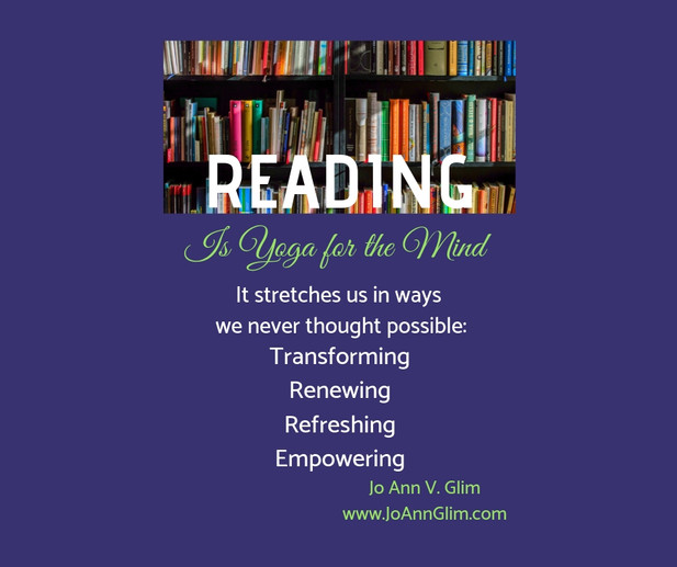 Reading is Yoga for the Mind