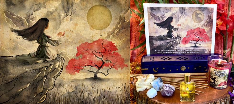 The Tsukimi Festival - Full Moon Set